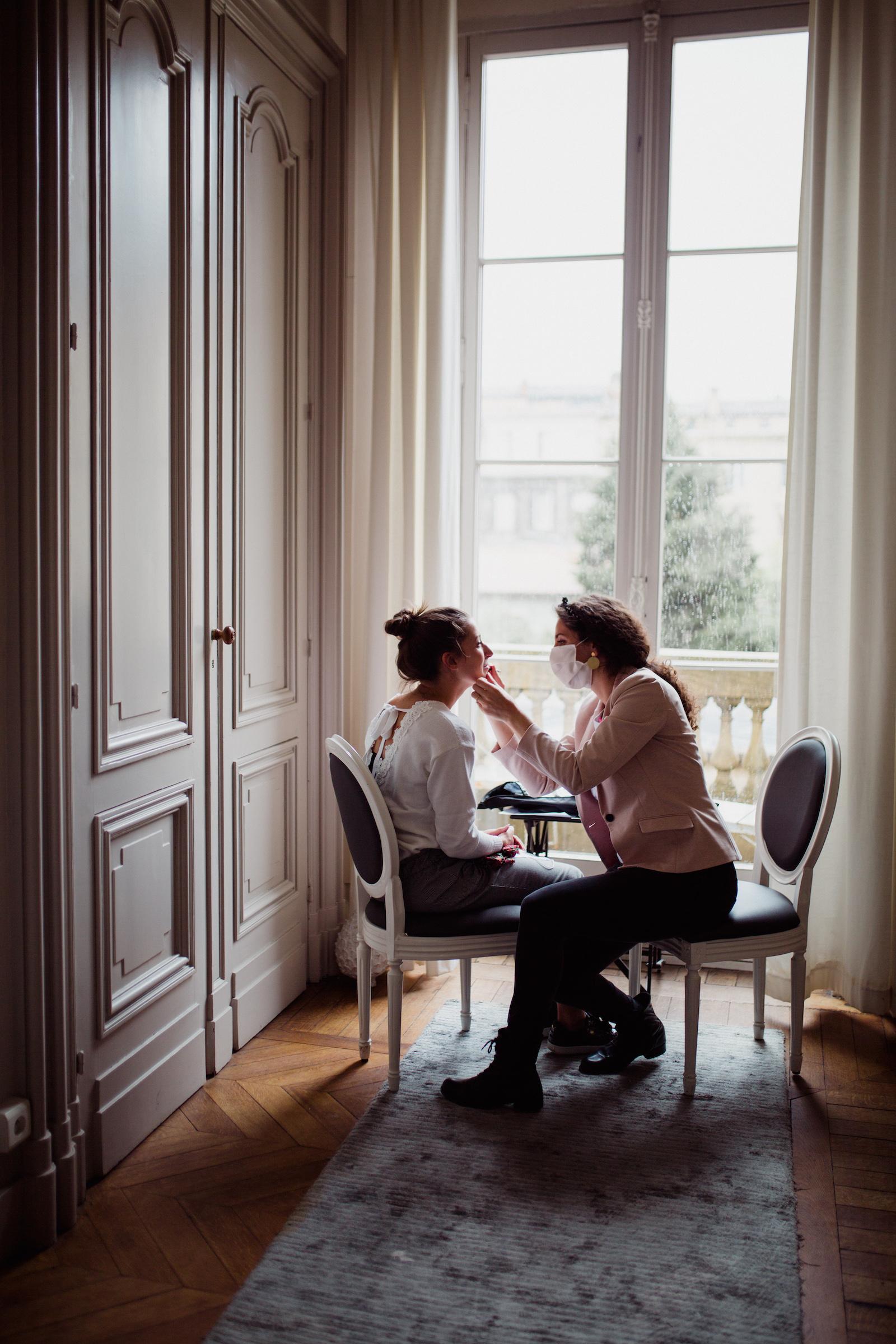 Maquillage mariée Mérignac Bordeaux Gironde