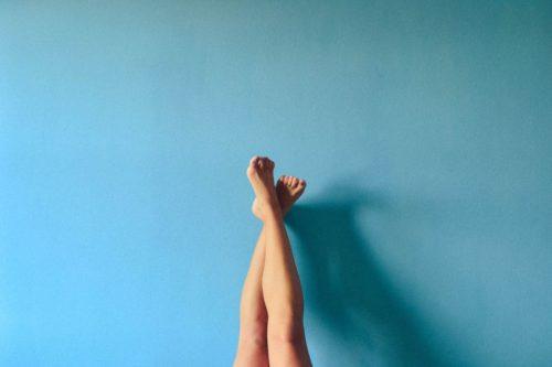 jambes bien épilées